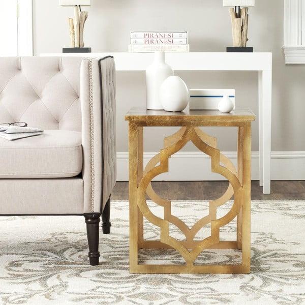 Odkládací stolek Simona Gold