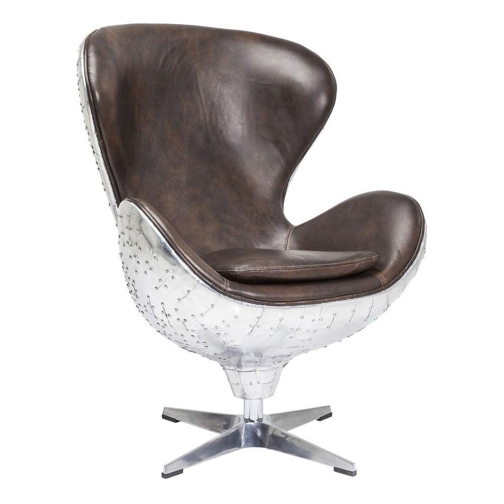 Hnědé kancelářské křeslo Kare Design Big Boss