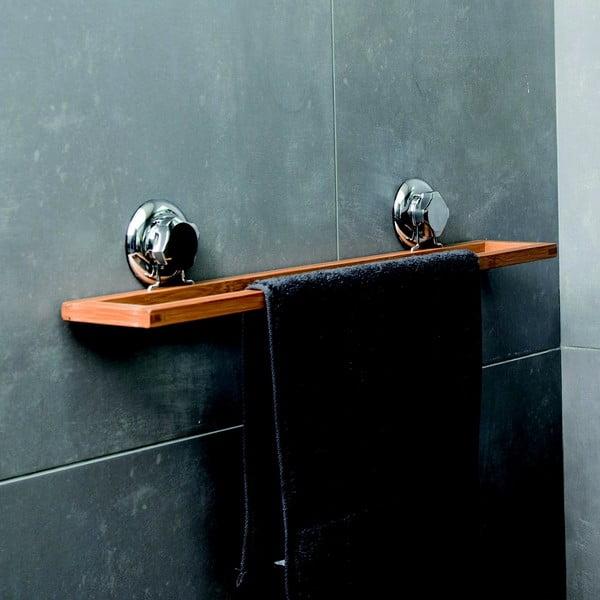 Bambusový nástěnný držák na ručníky Compactor Spa