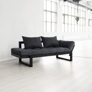 Sofa Karup Edge, grey/black