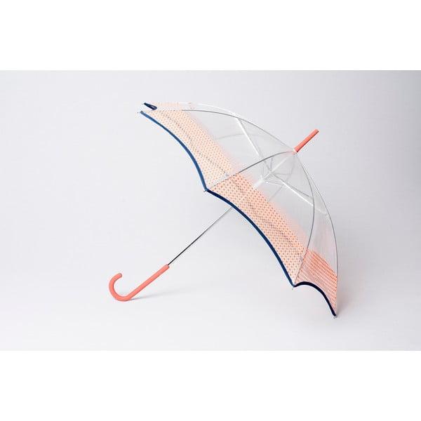 Deštník Alvarez Vichy Transparent Orange