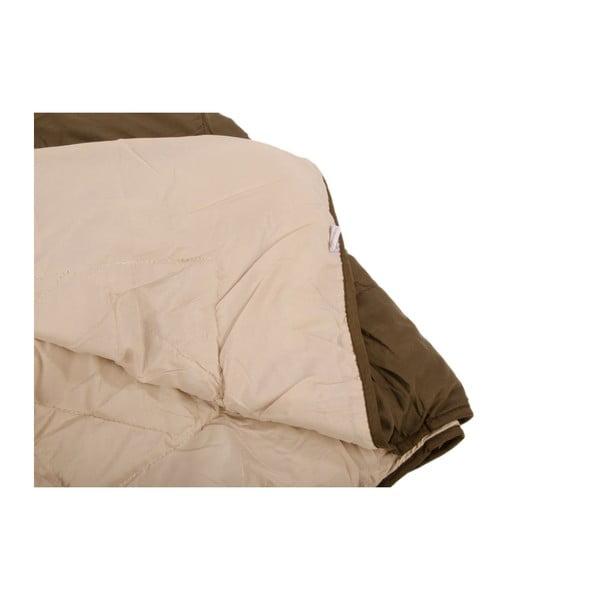 Přehoz na postel Duveta Cacao, 180x220 cm