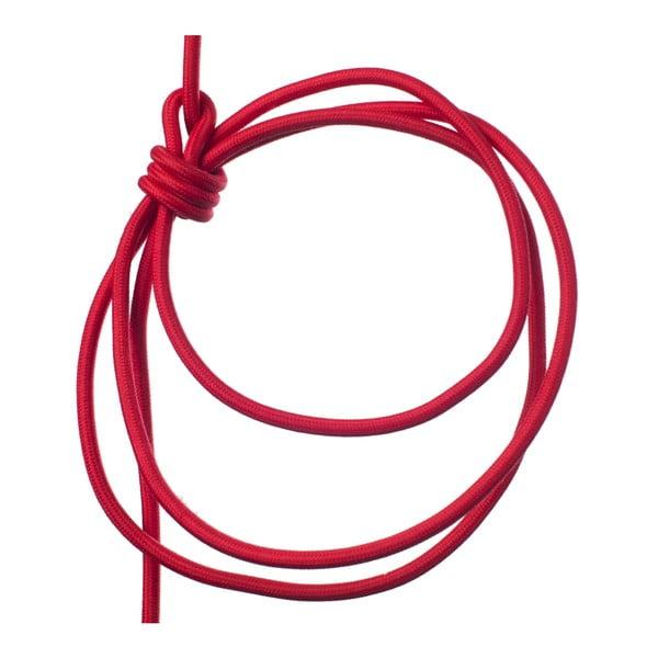 Červené svítidlo od Jakuba Velínského, 3 m