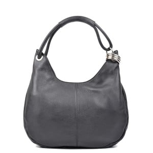 Černá kožená kabelka Isabella Rhea no. 1022 efc5cb1027