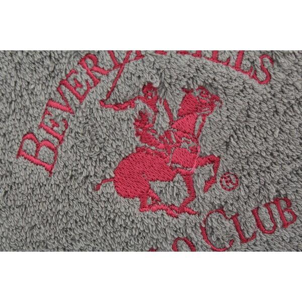 Bavlněný ručník BHPC 50x100 cm, šedý