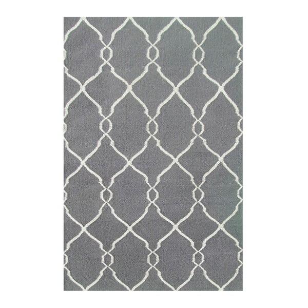 Ručně tkaný koberec Kilim JP 11181 Grey, 90x160 cm