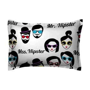 Povlak na polštář Hipster Face, 70x90 cm
