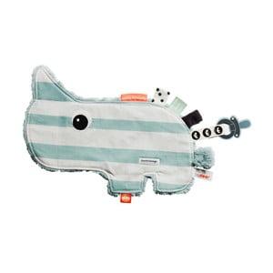 Modro-bílá multifunkční hračka Done by Deer Cozy Ozzo
