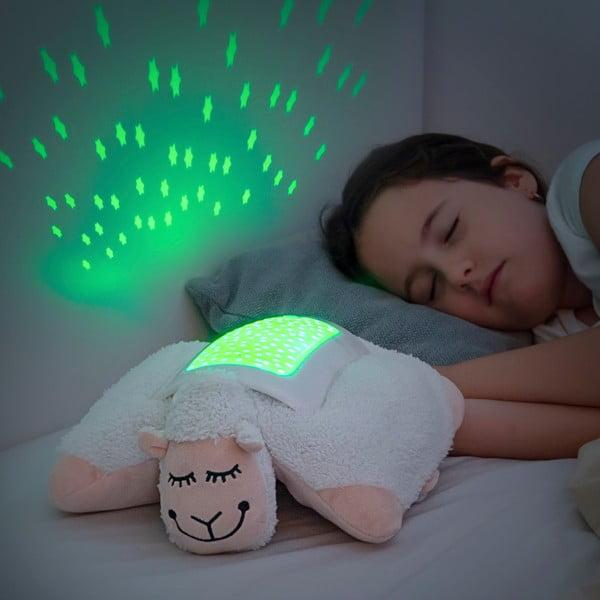 Dětský plyšový LED projektor InnovaGoods Projector Sheep