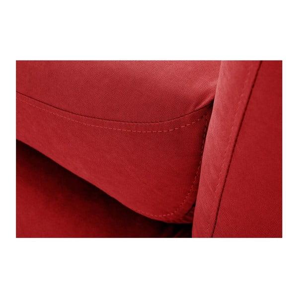 Canapea cu șezlong pe partea dreaptă Constellation, roșu