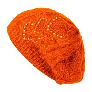 Oranžová čepice Lavaii Serena