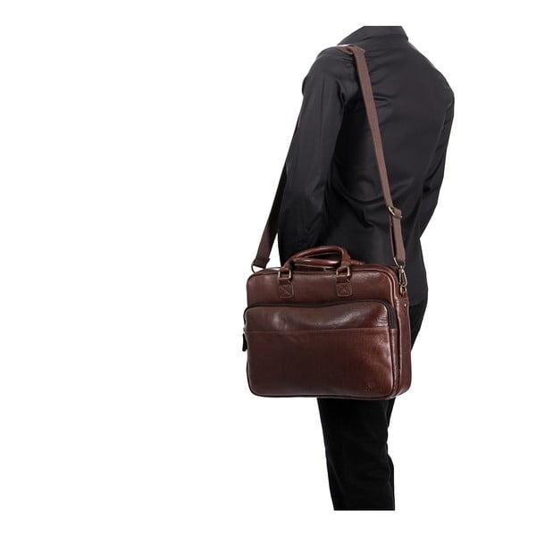 Pánská kožená taška Barnes Conker Laptop Bag