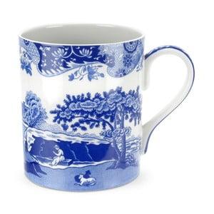 Sada 4 bílomodrých porcelánových hrnků Spode Blue Italian, 500 ml