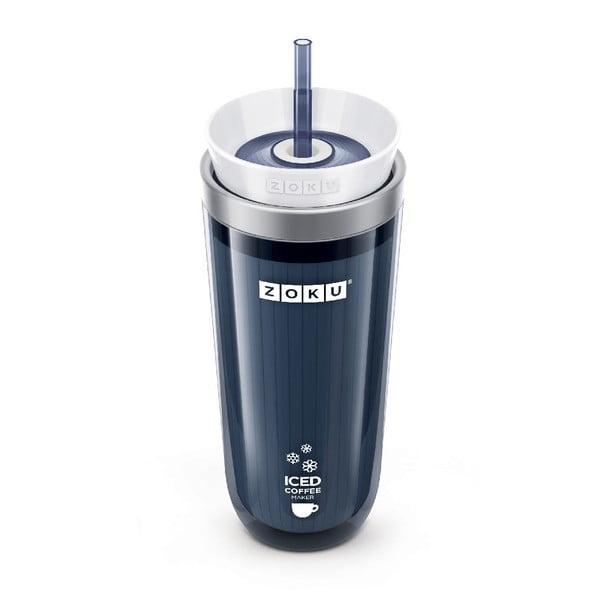 Šedý kelímek na ledovou kávu ZOKU Iced Coffee