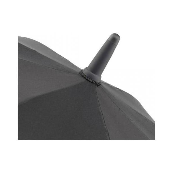 Černý deštník s červenými detaily Fare Proof