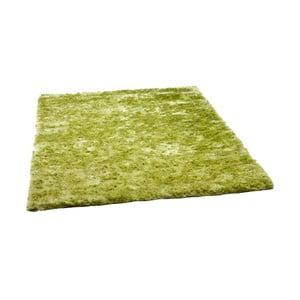 Zelený koberec Cotex Flush, 70 x 140 cm