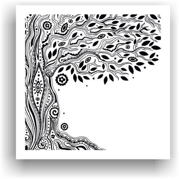 Obraz k vymalování Color It no. 15, 50x50 cm