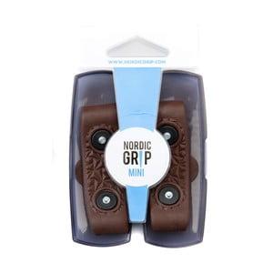Pásky na boty proti námraze Nordic Grip Mini Brown, velikost S