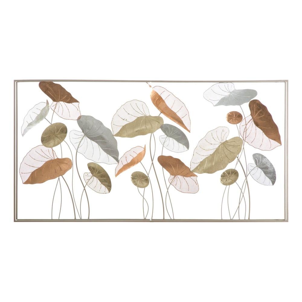 Nástěnná kovová dekorace Mauro Ferretti Lotus, 134,5x68,5cm