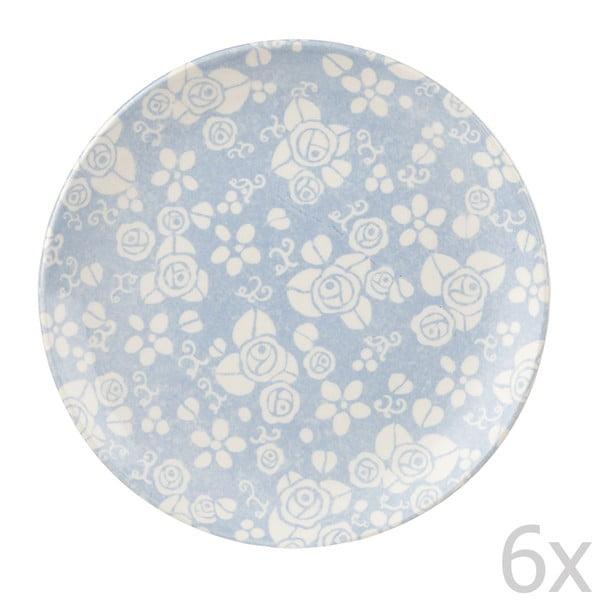 Sada 6 dezertních talířů Fledgling, 20 cm
