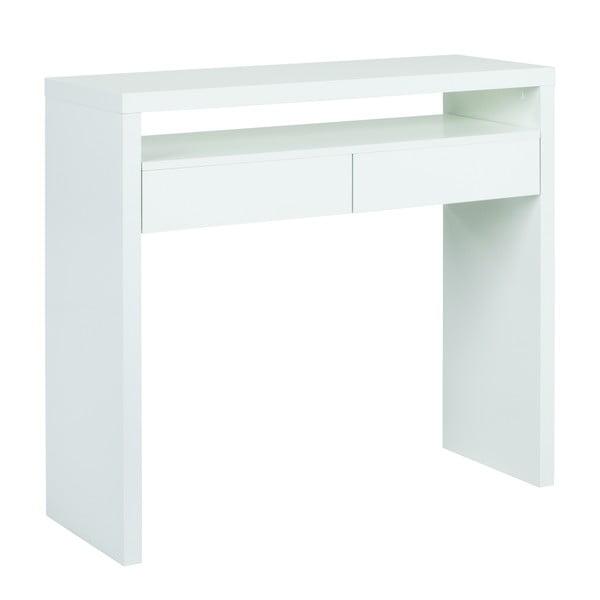 Pracovní stůl s výsuvnou deskou Console Mel