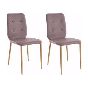 Sada 2 židlí Støraa Largo Oak