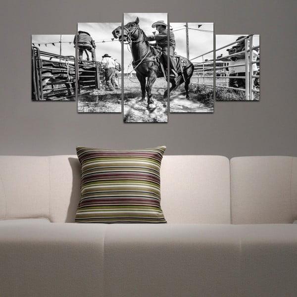 Vícedílný obraz Black&White no. 33, 100x50 cm