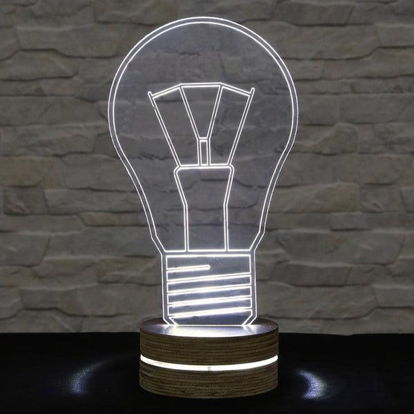 3D stolní lampa Bulb