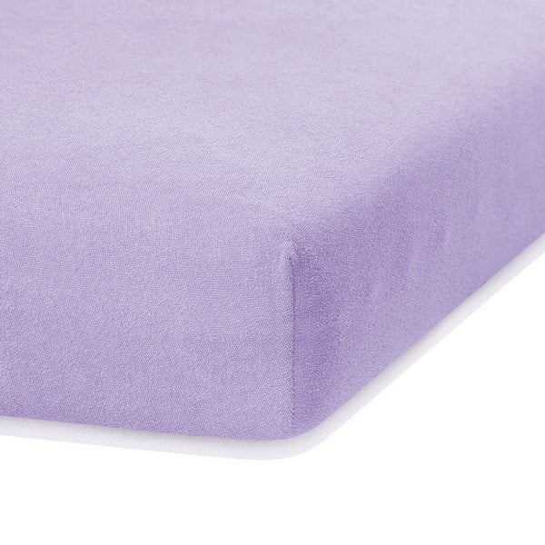Cearceaf elastic AmeliaHome Ruby, 200 x 140-160 cm, lila