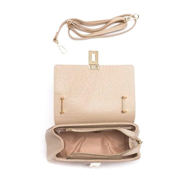 Kožená kabelka Roberta M 1092 Fango