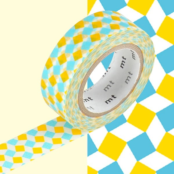 Bandă decorativă washi MT Masking Tape Esme, rolă 10 m