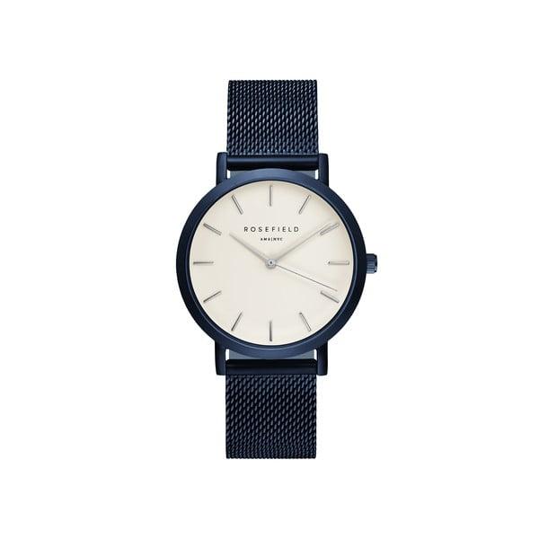 Bílomodré dámské hodinky Rosefield The Mercer