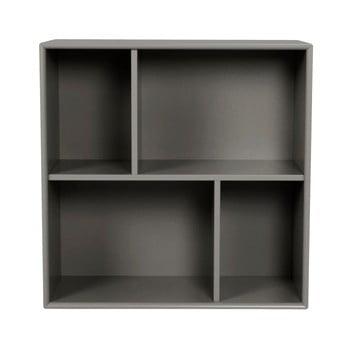 Etajeră Tenzo Z Cube, 70 x 70 cm, gri închis de la Tenzo