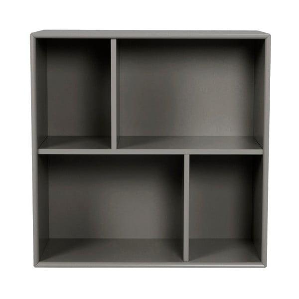 Tmavosivá polica Tenzo Z Cube, 70 x 70 cm