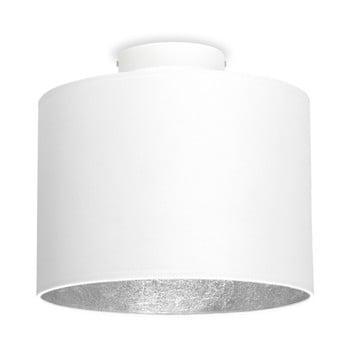 Plafonieră Sotto Luce MIKA, Ø 25 cm, alb/argintiu de la Sotto Luce