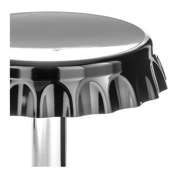 Černá barová stolička Tomasucci Tappo Black