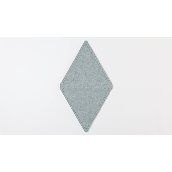 Modulový nástěnný koberec Edera, modrý