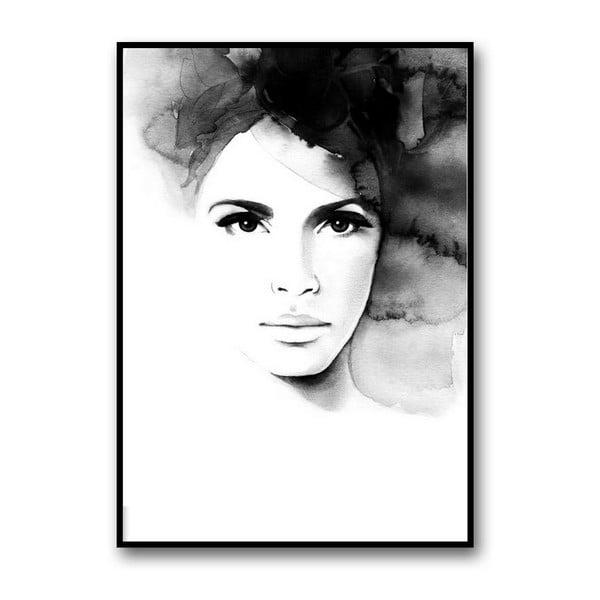 Autorský plakát Pretty Anne, 30x40 cm