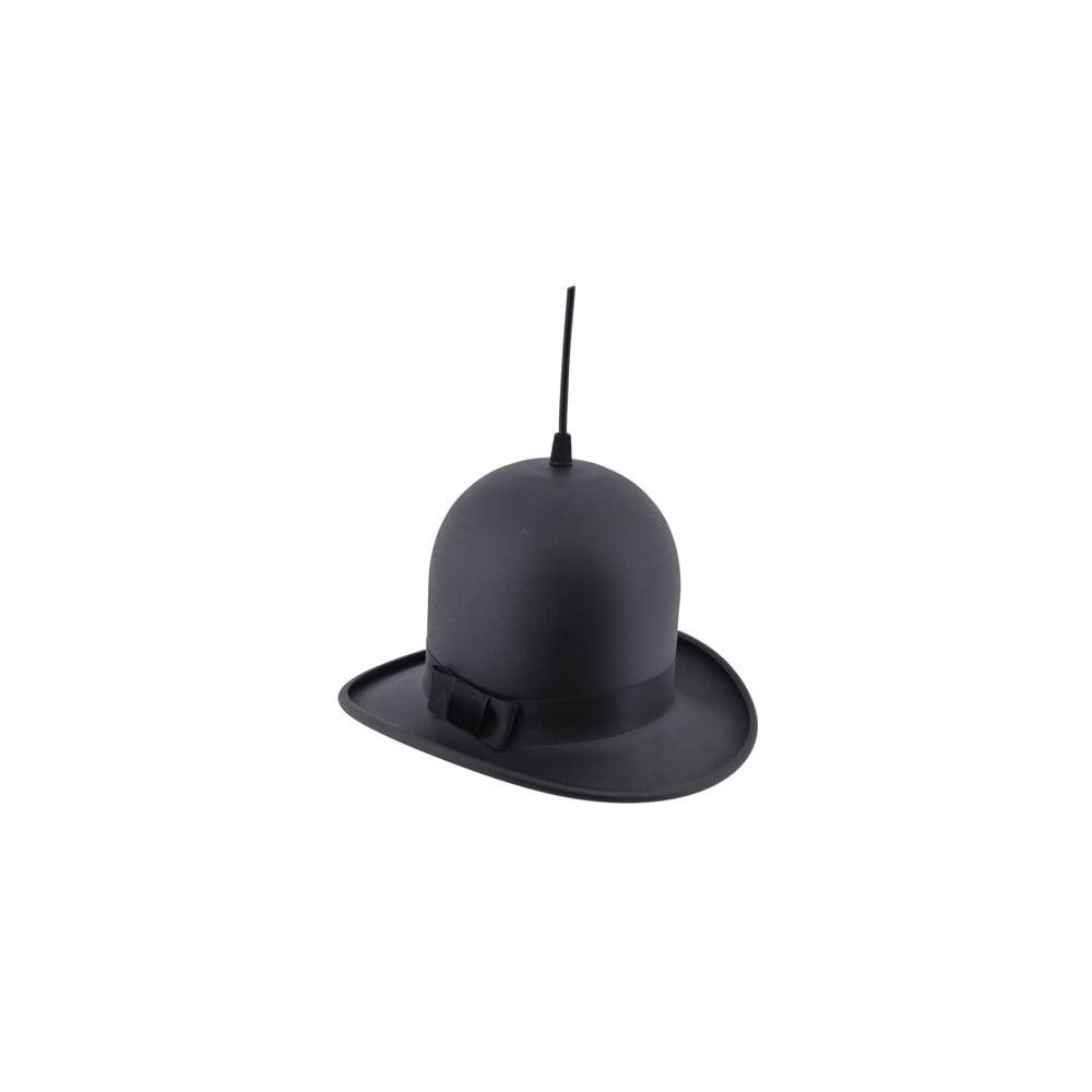 Černé stropní svítidlo Woman Hat