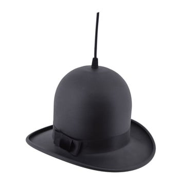 Lustră Homemania Woman Hat, ⌀ 28 cm, negru de la Homemania