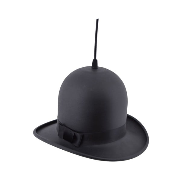Lustră Homemania Woman Hat, ⌀ 28 cm, negru