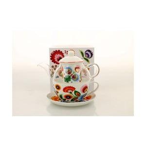 Porcelánový set na čaj pro jednoho Duo Gift Lowicz