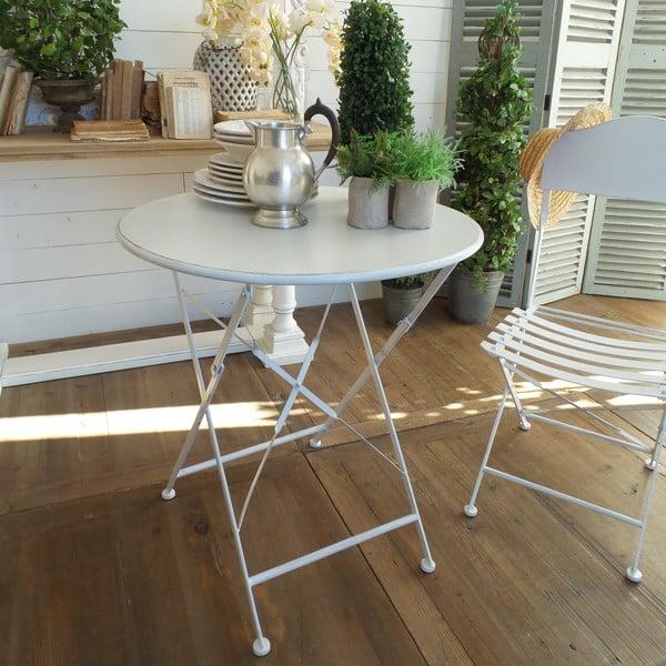 Skládací stolek White Garden