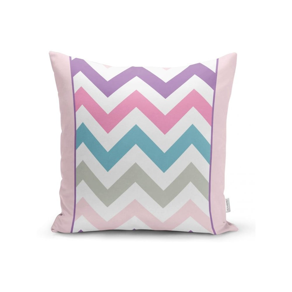 Povlak na polštář Minimalist Cushion Covers Pastel Zig Zag, 45 x 45 cm