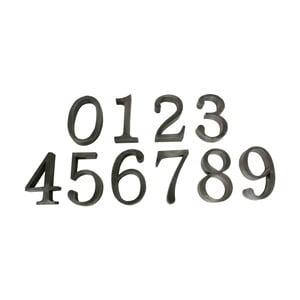 Sada 9 dekorativních čísel Antic Line 0 až 9