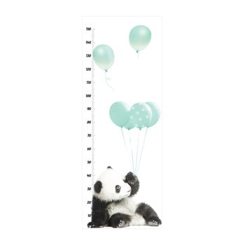 Autocolant metru de perete Dekornik Minty Panda