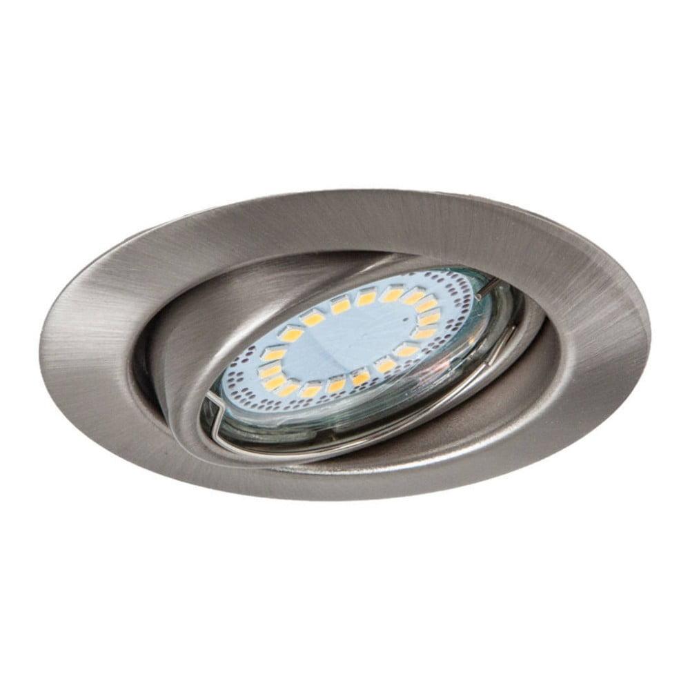 Stříbrné stropní/nástěnné světlo BRITOP Lighting CristalDream Matte
