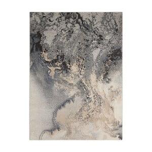 Koberec Nourison Maxell Grey Duro, 178x117cm