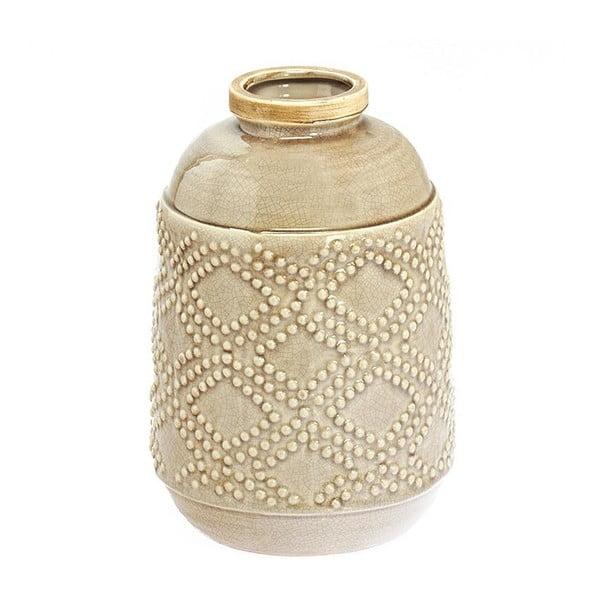 Keramická váza Beige Colour, 29 cm