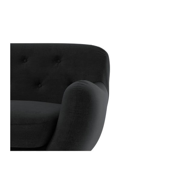 Sofa Zefir pro tři, tmavě šedé - lehce poškozená spodní strana pohovky